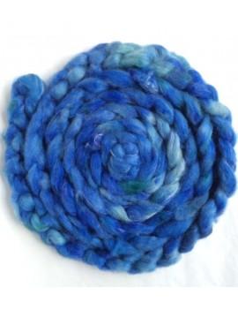 ruban alpaga tencel Bleu éclair