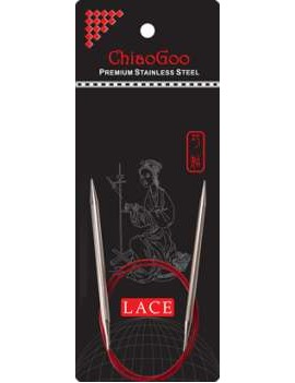 Aiguilles circulaires 3,50 mm ChiaoGoo RED Lace