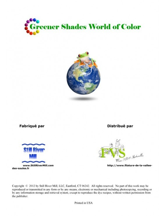 Guide de formulation Greener Shades