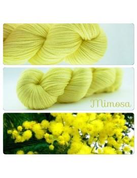 """Mimosa"" Fil fingering Alpaga & Soie"