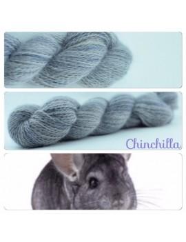 """Chinchilla"" Angora & Baby Alpaga"