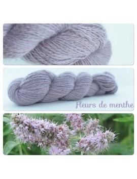 """""""Fleurs de Menthe"""" Angora & Baby Alpaga"""