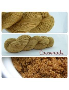 """Cassonade"" Single fingering Alpaga Seacell"