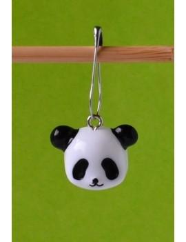 """""""Tête de Panda"""" Anneau marqueur Amovible"""