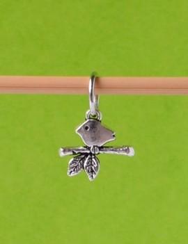"""""""Oiseau sur une Branche"""" Anneau marqueur"""