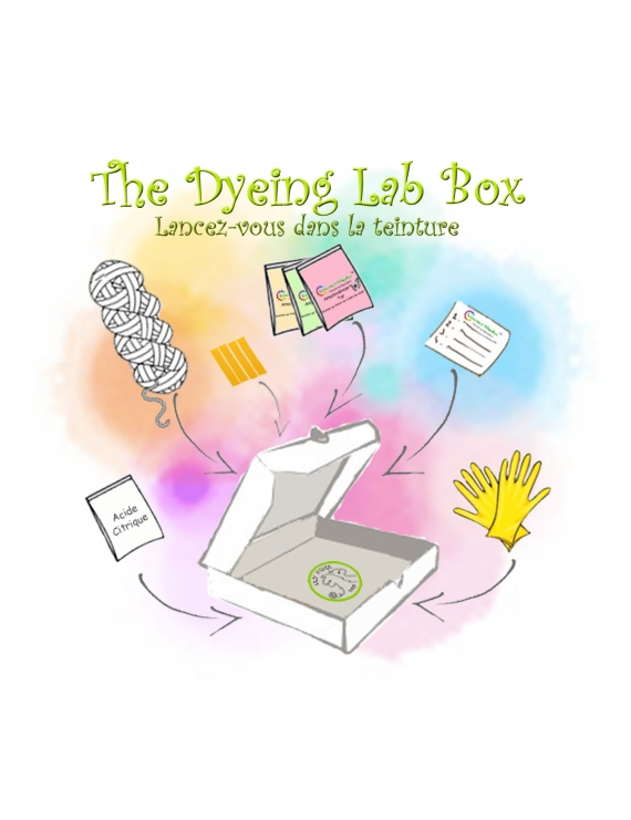 "The Dyeing Lab Box ""Glossy"""