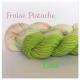 """""""Fraise Pistache+Lime"""" Fil à Chaussette Mérinos Alpaga & Nylon"""