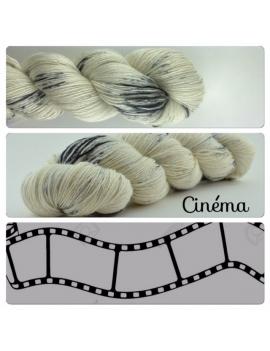 """Cinéma"" Single Fingering Merino & Silk Yarn"