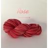 """Rose"" Fil Super Bulky 100 % Mouton Ile de France"
