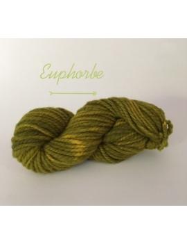 """Euphorbe"" Fil Super Bulky 100 % Mouton Ile de France"