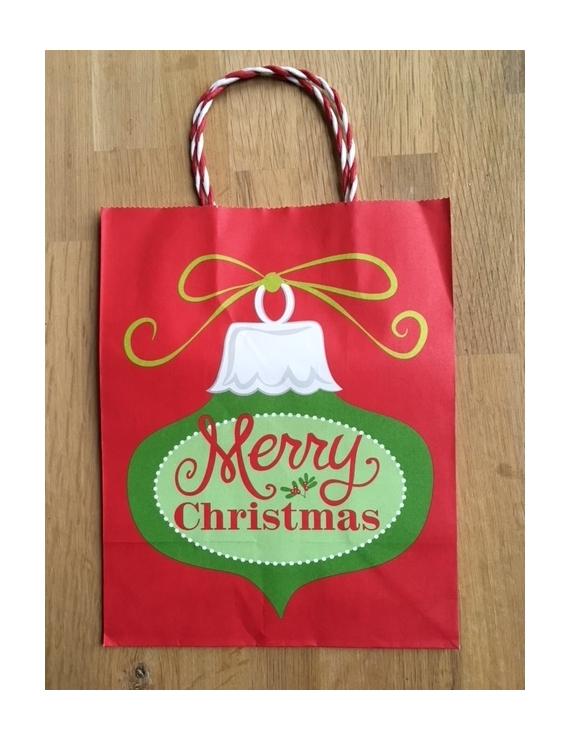 """Christmas Bag """"Rouge"""" Teinture"""