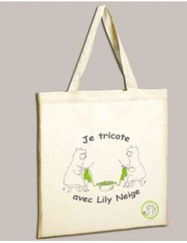 Tote bag Lily Neige