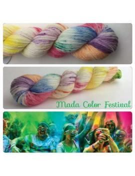 """Fil fingering Alpaga & Soie """"Mada Color Festival"""""""