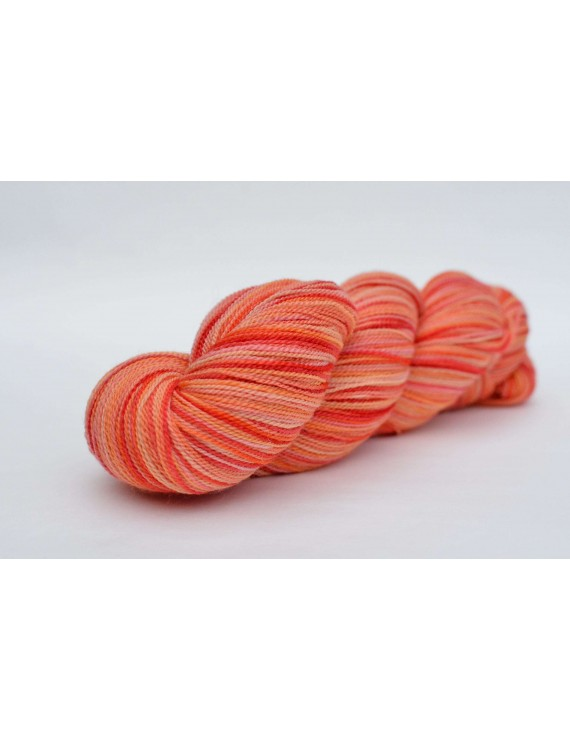 fil ultra lace mérinos & soie Mandarine Clémentine