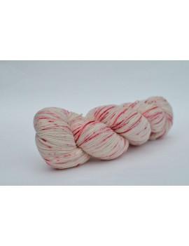 fil ultra lace mérinos  et soie Dahlia Rose