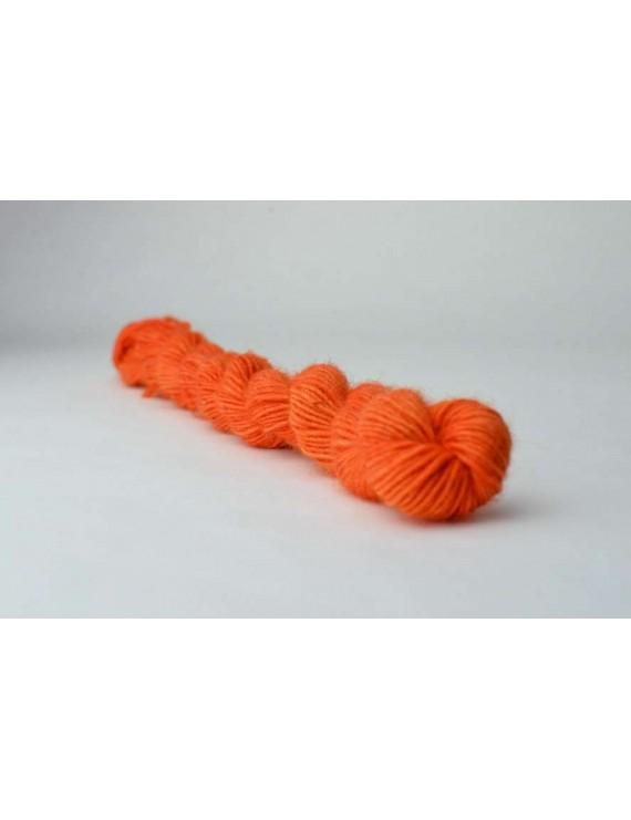 Single fingering Alpaga tencel Orange 1