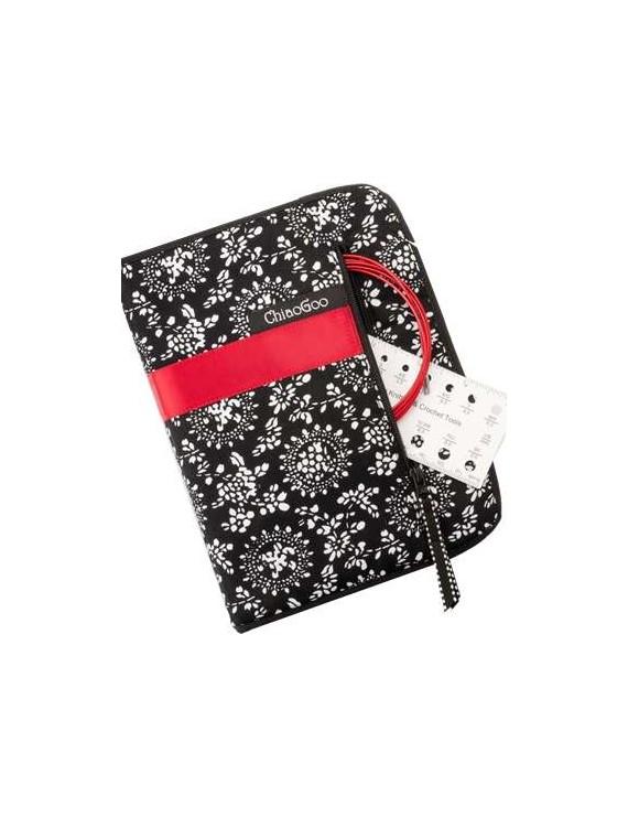 "ChiaoGoo Twist Red Lace Interchangeable Knitting Needle Set S 5"""