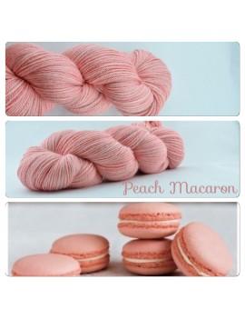 """Fil fingering Alpaga & Soie """"Peach Macaron"""""""