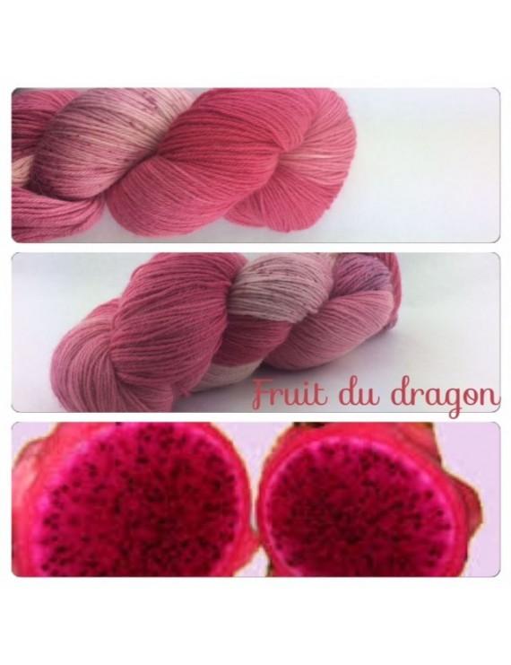 fil fingering baby alpaga fruit du dragon