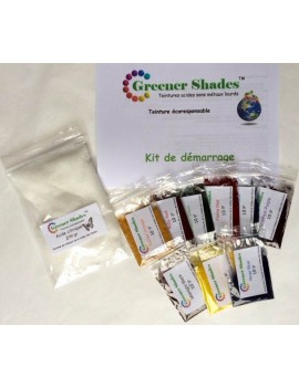 Kit teinture Greener Shades 10 gr