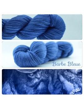 """Barbe Bleue"" Fil fingering Alpaga & Soie"