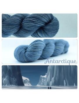 """""""Antarctique"""" Fil fingering Alpaga & Soie"""