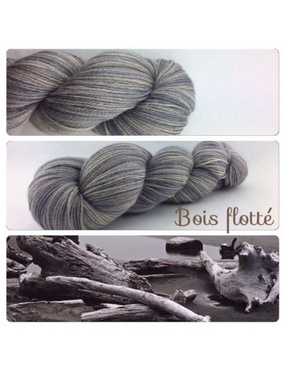 """""""Bois Flotté"""" Fil fingering Alpaga & Soie"""