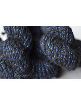 Fil Twisty Bleu nuit de Chine (Alpaga & Soie)