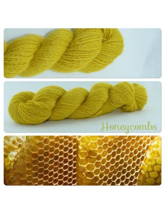 """""""Honeycombs"""" Angora & Baby Alpaga"""