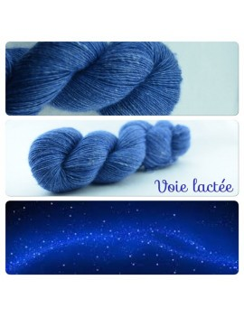 """Voie Lactee"" Single fingering Alpaca Seacell"