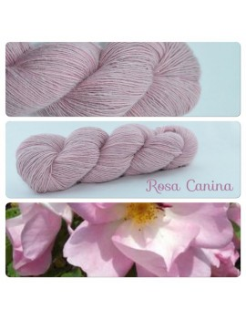 """Rosa Canina"" Single fingering Alpaca Silk Angelina"
