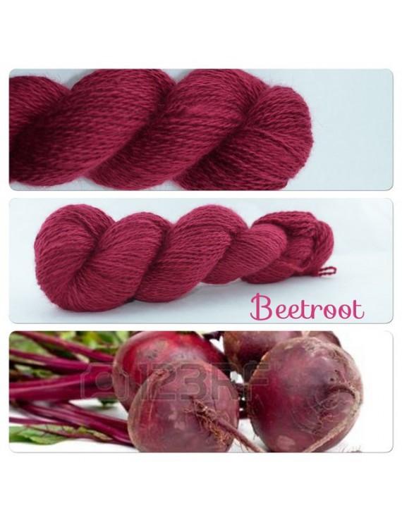 """Beetroot"" Angora & Baby Alpaga"