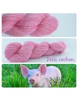 """Petit Cochon"" Angora & Baby Alpaca"