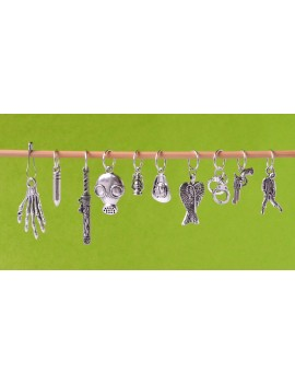 """The Walking Dead"" Stitch Markers"