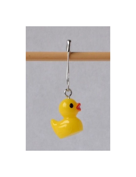 """Duck"" Removable Stitch Marker"