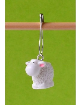 """Little Sheep"" Removable Stitch Marker"