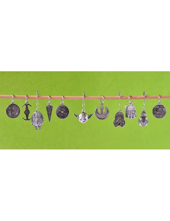 """Star Wars"" Stitch Markers"