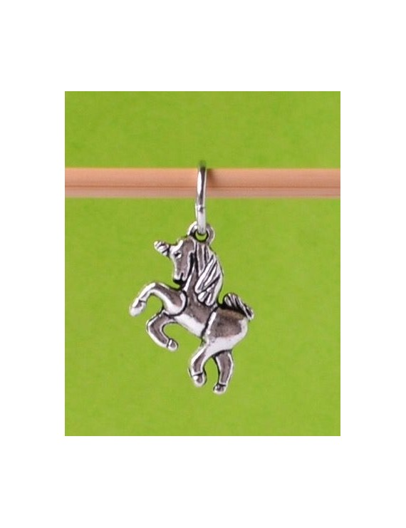 """Unicorn 2"" Stitch Marker"
