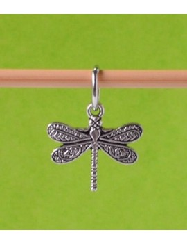 """Dragonfly"" Stitch Marker"