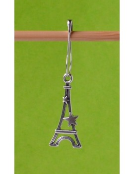 """Eiffel Tower"" Removable Stitch Marker"