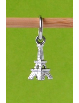 """3D Eiffel Tower"" Stitch Marker"