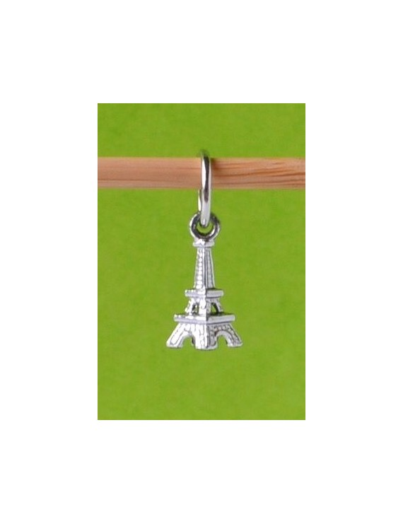 """3D Eiffel Tower"" Stitch Marker"