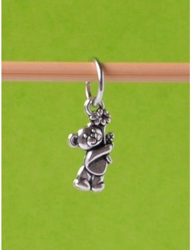 """Bear Cub"" Stitch Marker"