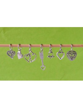 """Love"" Stitch Marker"