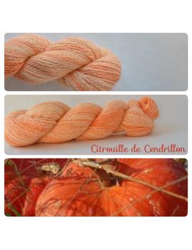 """""""Citrouille de Cendrillon"""" Angora & Baby Alpaca"""