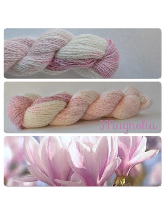 """""""Magnolia"""" Angora & Baby Alpaga"""