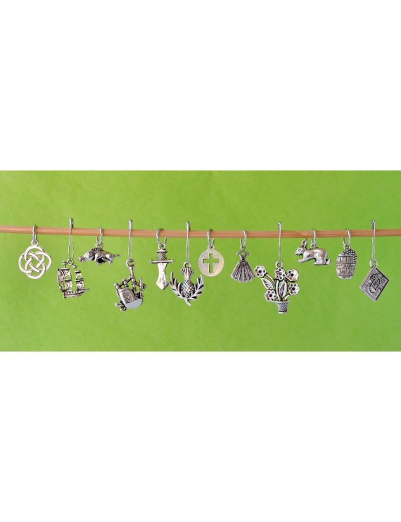 """Outlander 1"" Stitch Markers"