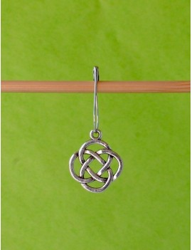 """Celtic Knot"" Removable Stitch Marker"