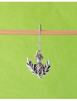 """Scottish thistle"" Removable Stitch Marker"