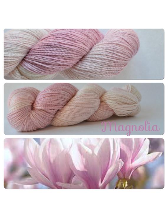 """Magnolia"" Fil fingering Alpaga & Soie"